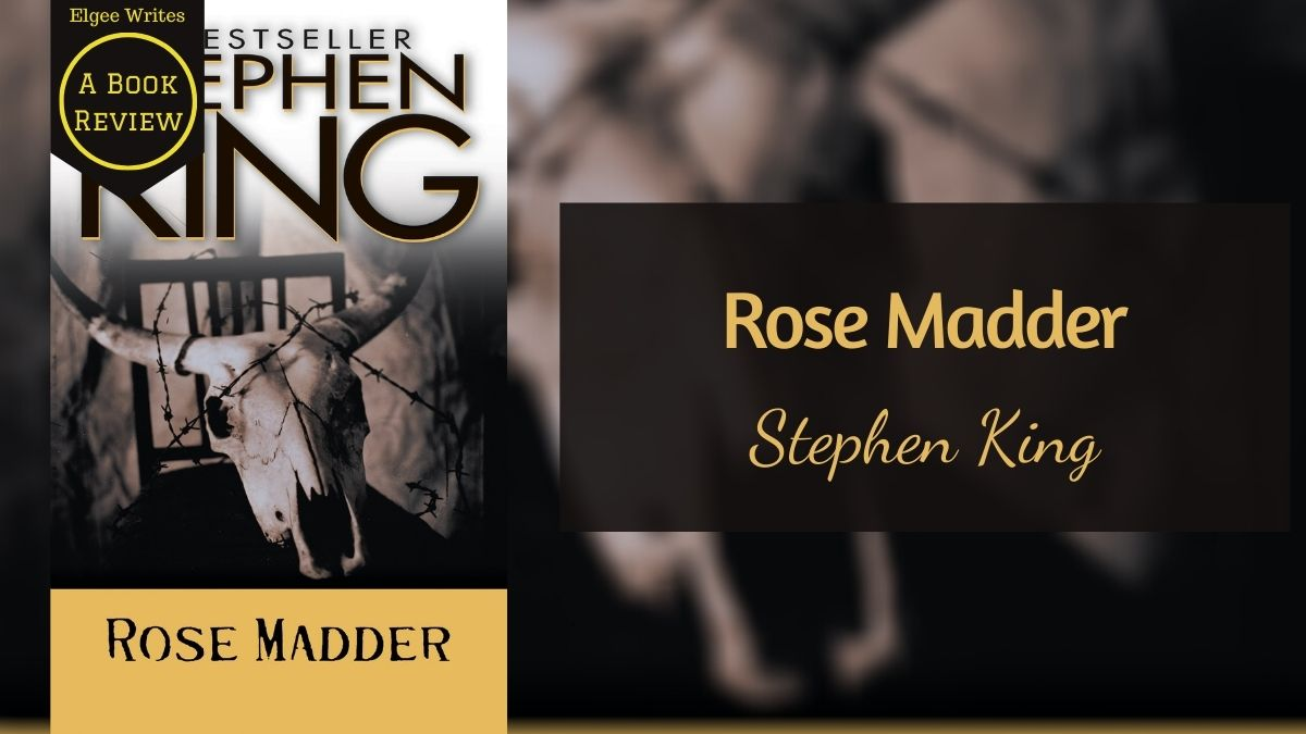 Rose Madder by Stephen King Featured