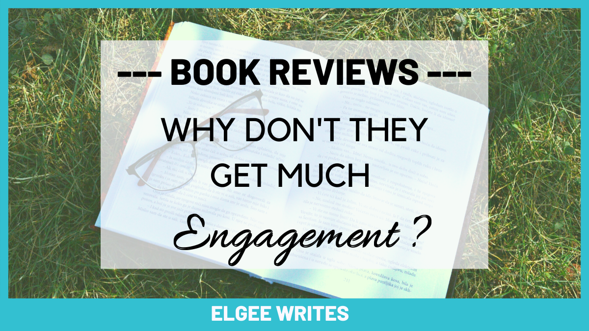 Book reviews don't get much engagement Cover