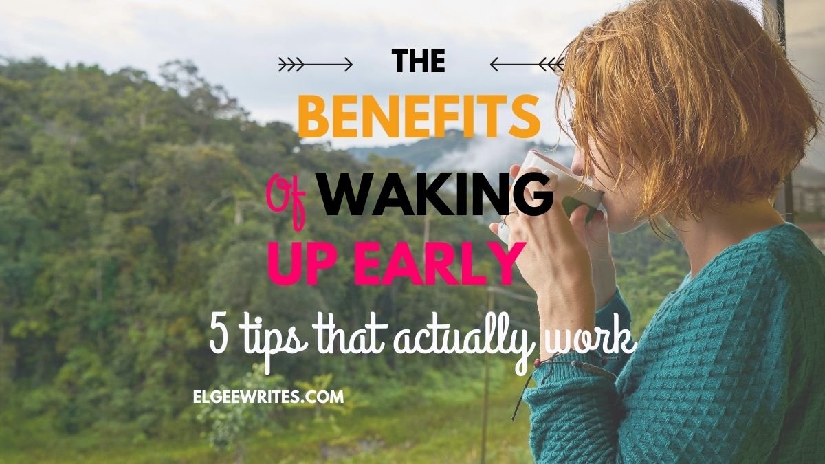 Benefits of waking up early cover