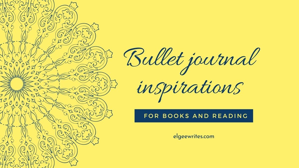 Bullet journal ideas for books and reading featured